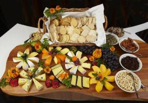 Fabulously attractive cheese board. This is one of my major temptations.